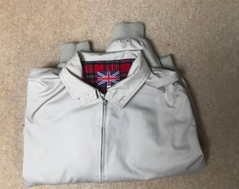 Cream Harrington Jacket