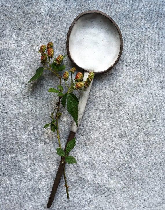 Summer White Spoon