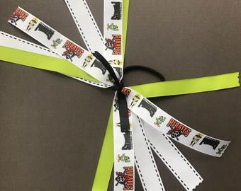 Pittsburgh Pirates Ribbon Ponytail Streamers