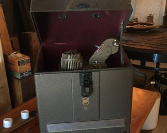 Vintage Bell & Howell Filmo Diplomat 16mm Film Projector