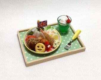 Free Shipping! Miniature Kid's Plate - CR-364mo