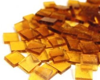 Mini Stained Glass - Clear Amber - 50g
