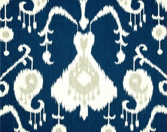 Java Navy - Magnolia Home Fashions - Upholstery Designer Fabric By The Yard