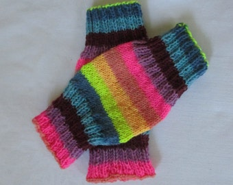 Baby leg warmers of BabyLegs with wool length 18 cm 9 cm