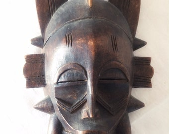 Senufo mask with rich patina
