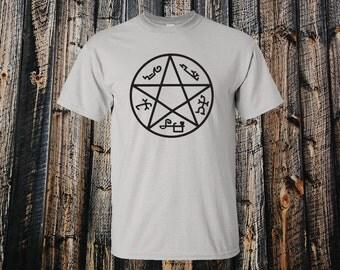 Devils Trap T-shirt - Supernatural Inspired