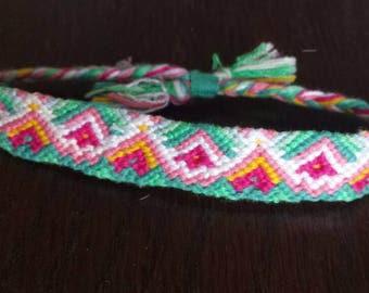 Unique knotted friendship festival bracelet