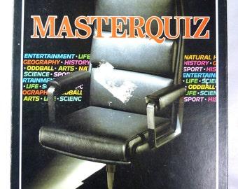 Vintage 1984 Waddington's Master Quiz Board game