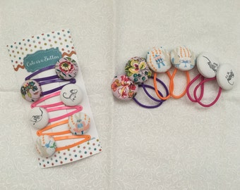 Floral, Bunny and Mice Hair Accessories