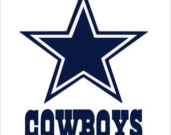 Dallas Cowboys Logo SVG DXF EPS Png digital download