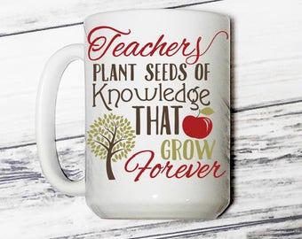 Teacher's Coffee Mug - Teachers Coffee Mug - Mug For Teachers - Mug for Teacher's - Gift for Teachers - Gift for Teacher's