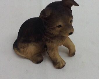 Homco Ceramic Dog Statue