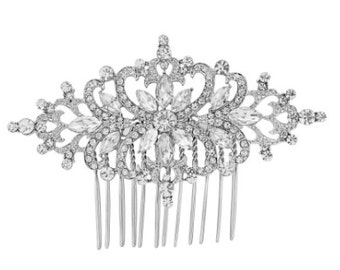 STARLET - Wedding Bridal Hair Comb