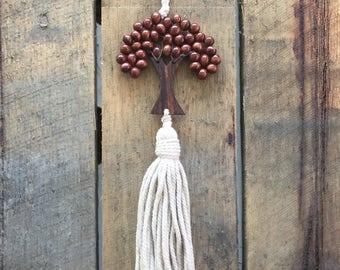 Beaded Tree of Life Tassel