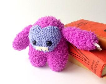 Pink Fluffy Imp Monster