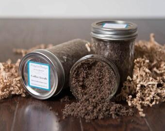 All Natural Coffee Sugar Scrub