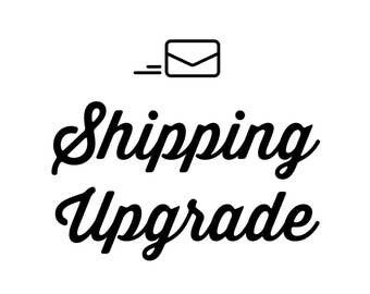 Upgrade Shipping to Priority (US Orders Only)