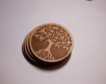 Tree of Life Coasters