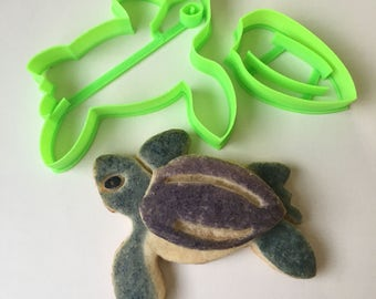 Baby Sea Turtle Cookie Cutter Set