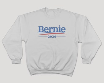 Bernie Sanders Sweater. Bernie Sanders for President 2020 Premium White Sweater