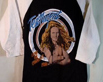 Ted Nugent 1980  Tour t shirt