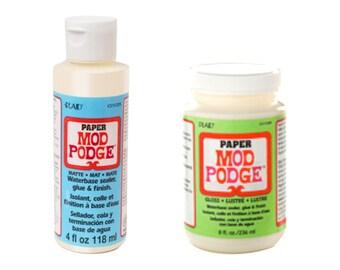 Plaid® Mod Podge® Paper, Assorted, Matte, Gloss, 4 oz, 8 oz