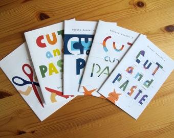 zine『CUT and PASTE vol.1~5』a five-piece set