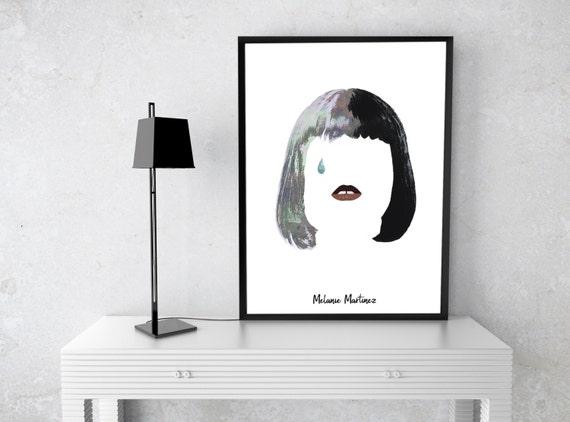 Melanie Martinez, Melanie Martinez poster, Digital Poster, Instant Download, Printable Art, Wall Print, Melanie Martinez art, Wall decor