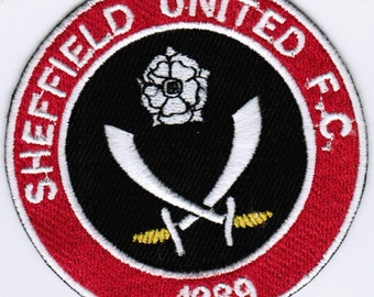 Sheffield United FC Football England Embroidered Patch