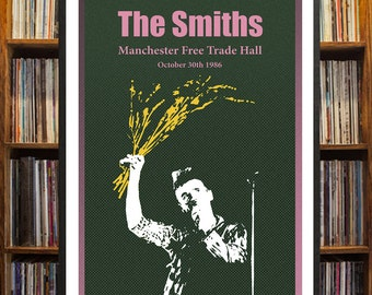 The Smiths Manchester Concert Poster