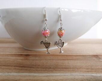 Earrings cocktail, earrings summer, party earrings