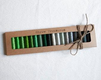 20 threads of silk Laborita of Wolle. Antique. Series 4