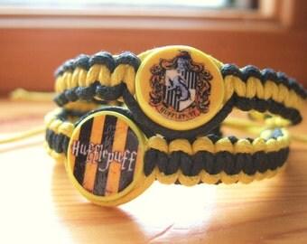 Hufflepuff Inspired Friendship Bracelets