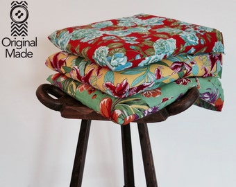 Chita, Brazilian fabric, Colorful pillow