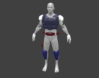 Gears of War 4 Marcus Phoenix armor suit pepakura blueprints to build your own.