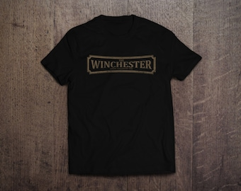 The Winchester - Shaun of the Dead- Mens and Womens Round Neck T-Shirt