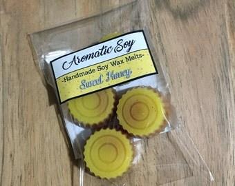 Sweet Honey Soy Wax Melts Handmade