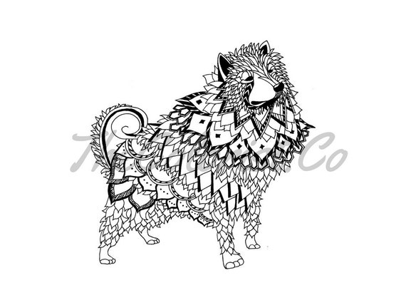 american eskimo coloring pages - photo#31