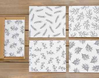 Botanical Card Set (7)