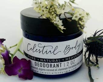 Aluminum-free, non-toxic Deodorant-that REALLY works! Tried and true!