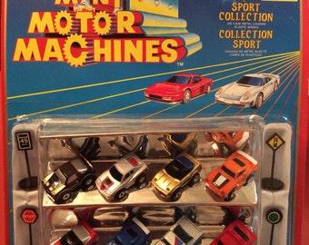 Vintage 1988 Mini Motor Machines/ Imperial Die Cast Toy Cars