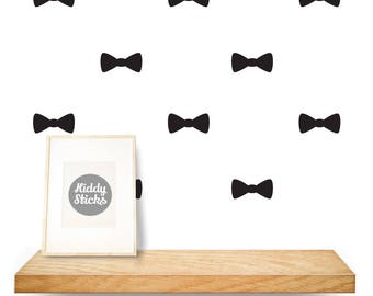 Bow Tie Shaped Wall Stickers / Decals