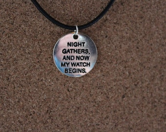 Night's Watch Necklace, Game of Thrones