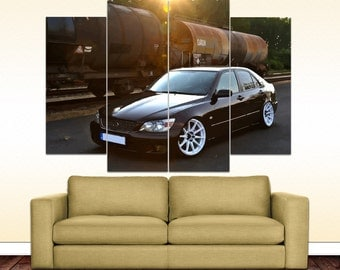 Lexus IS 200 canvas picture