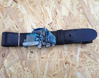 Belt leather 3D TRUCK
