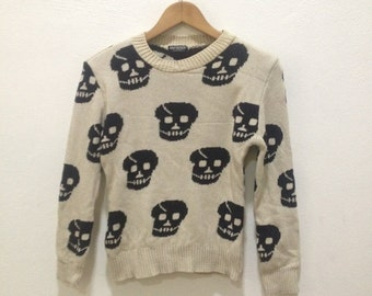 Any Body collection cardigan Full Print Skull gothic Punk