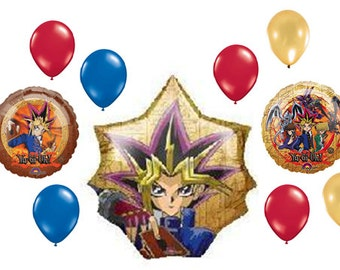 Yu-Gi-Oh Balloons | Birthday Decorations
