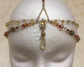 Amber Head Chain