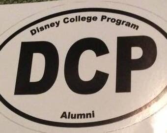 College Program Alumni Decal