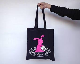Tote Bag Satanic Bunny